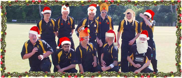 Merry Christmas and a Happy New Year to all Bournemouth Cricket Club Members