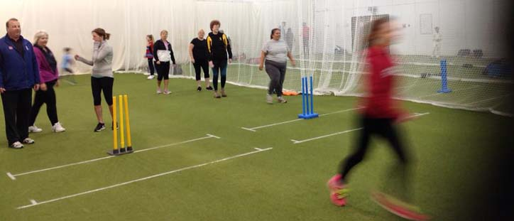 Ladies Softball, open to Ladies of all ages. No experience needed Thursday evenings on C2 pitch 6pm to 7.30pm