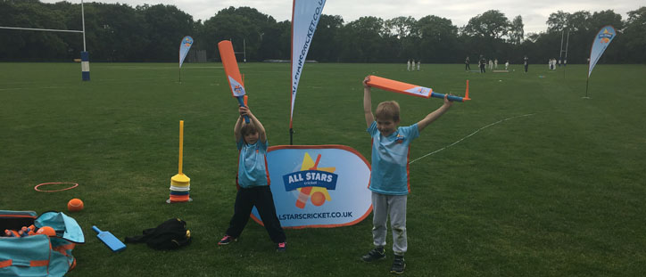 All Stars has now started, for children aged 5 to 9